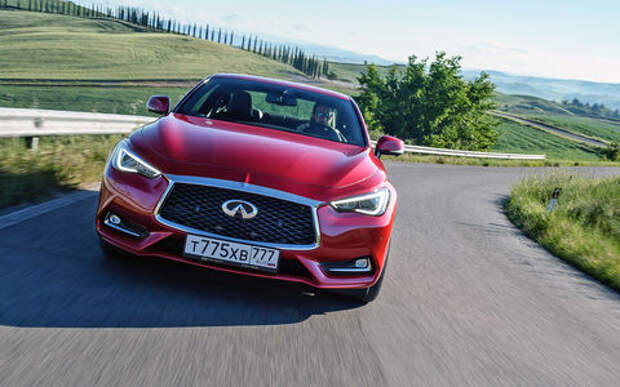 Оператив ЗР: Infiniti Q60 – порвать Mercedes, растоптать BMW
