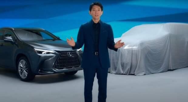 Lexus впервые «засветил» новый LX в ходе презентации NX