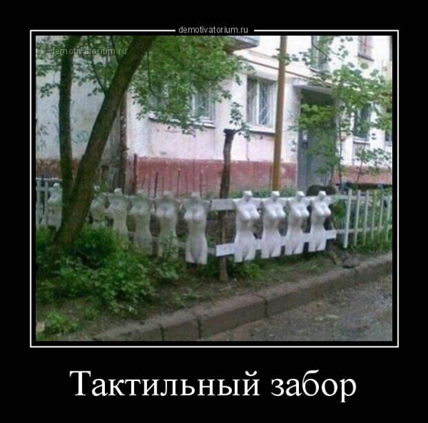 Тактильный забор