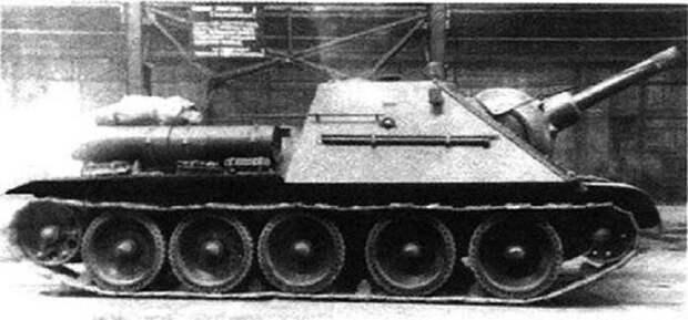 Рассказы об оружии. САУ СГ-122: первый трофейный опыт САУ СГ-122, рассказы об оружии, страницы  истории