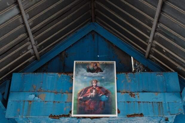 6 необычных фото церкви в плацкартном вагоне поезда
