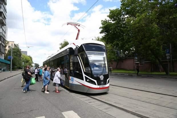 Трамваи в сторону Строгина встали из-за ДТП