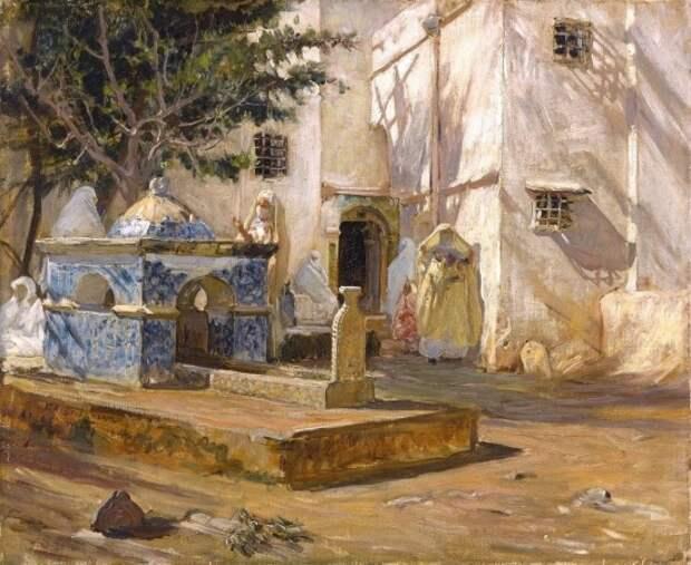 художник Фредерик Артур Бриджмен (Frederick Arthur Bridgman) картины – 40