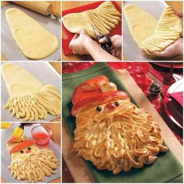 Супер-новогодний хлеб! Главное, чтобы жалко не стало