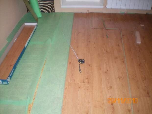 СтройРемПлан. Укладка ламината в жилых помещениях