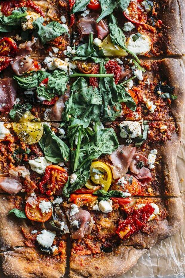 начинка для пиццы с грибами и колбасой