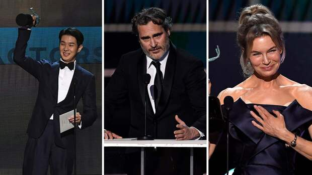 Брэд Питт и Дженнифер Энистон воссоединились на премии SAG Awards и еще 5 новостей, которые вы могли проспать