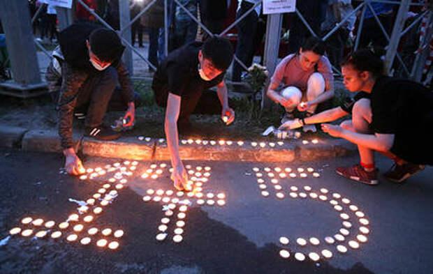 Соболезнования семьям погибших в Казани приходят со всего мира