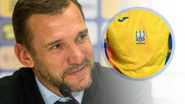 Тренер сборной Украины Шевченко остался доволен формой команды с Крымом на карте