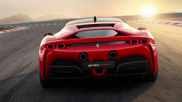 Первый электрический суперкар Ferrariможет выйти уже через четыре года
