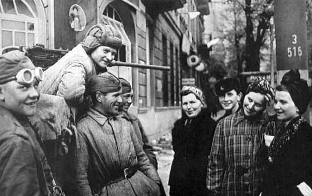 Чем солдаты Красной Армии удивили мирных жителей Германии