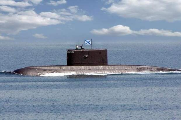 """Российская субмарина отделалась от датского патруля благодаря """"Северному потоку-2"""""""