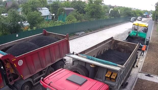 Более чем на 500 участках дорог в Подмосковье завершили укладку нового покрытия