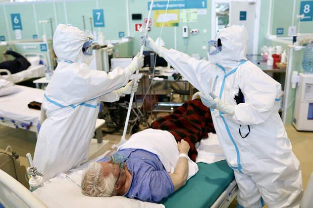 В России за сутки выявили максимальное с 7 марта число заражённых COVID-19