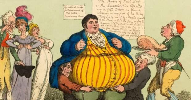 История Дэниела Ламберта – самого толстого человека в Англии