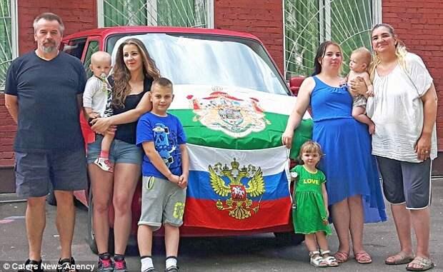 Немецкая семья сбежала от мигрантов и попросила убежища в России