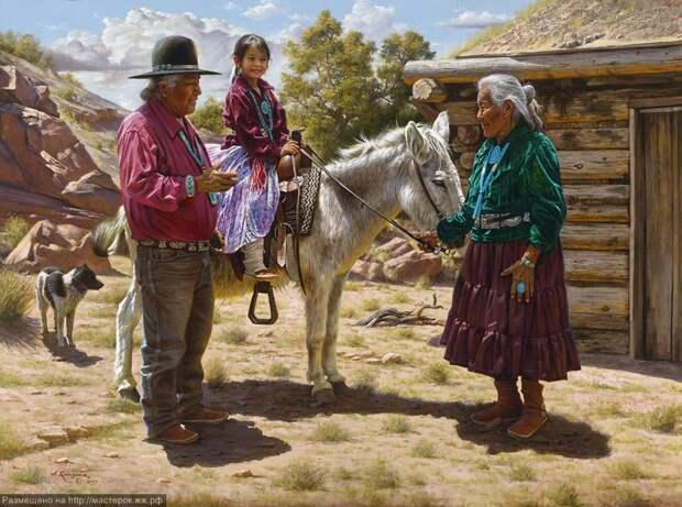 Светлая сторона Дикого Запада в прелестных картинах Альфредо Родригеса