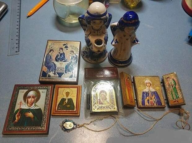 Инструкция по утилизации икон, церковной атрибутики и магических амулетов...
