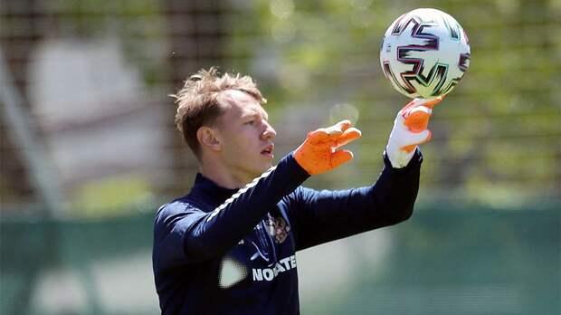Сафонов — о своем вызове в сборную на Евро: «Вероятно, дают возможность почувствовать атмосферу»