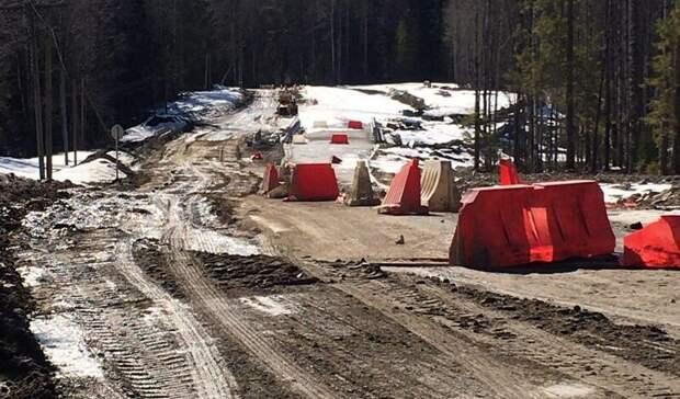 Строительство мостов вКарелии затянулось надевять месяцев