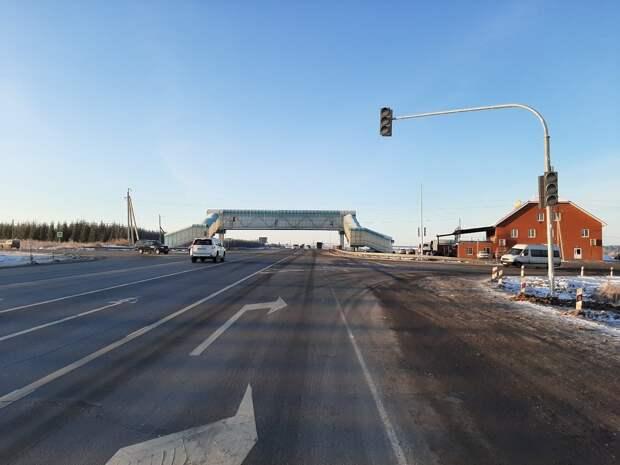 Два новых светофора появятся на трассе в Малопургинском районе Удмуртии
