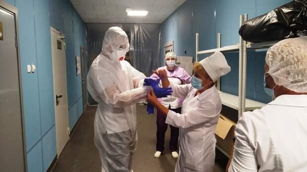 В Крыму студенты-медики начали работать в одной из инфекционных больниц