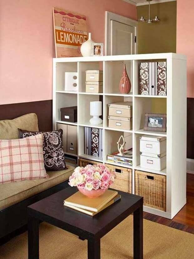 Рациональные и стильные идеи хранения вещей в небольшом жилье