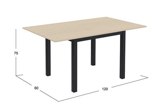 модель стола из дерева