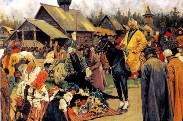 Сергей Иванов, «Баскаки». 1909