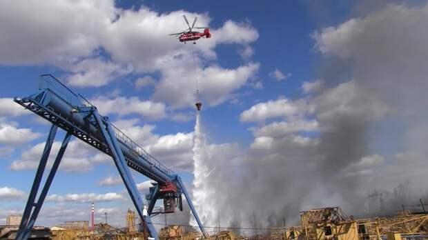Авиапарк Московских спасателей пополнился новым вертолетом