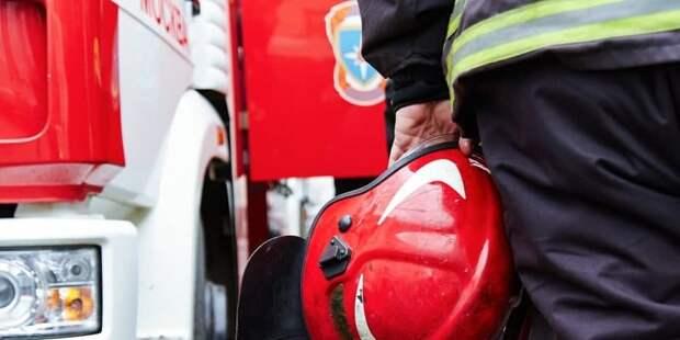 В подъезде на Новгородской загорелся пожарный шкаф