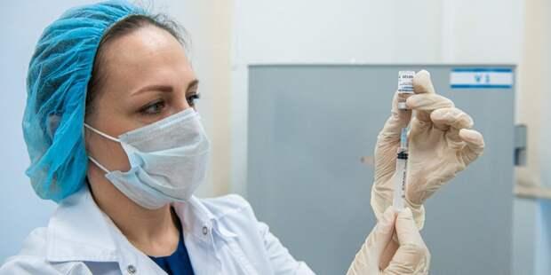 От коронавируса можно будет привиться на Люблинской