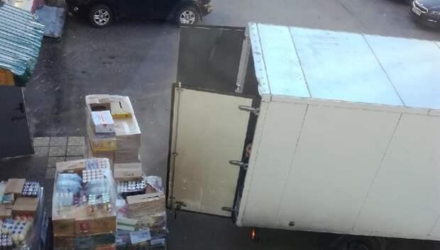 В Подольске подтвердили законность разгрузки товаров в магазины у домов по ночам