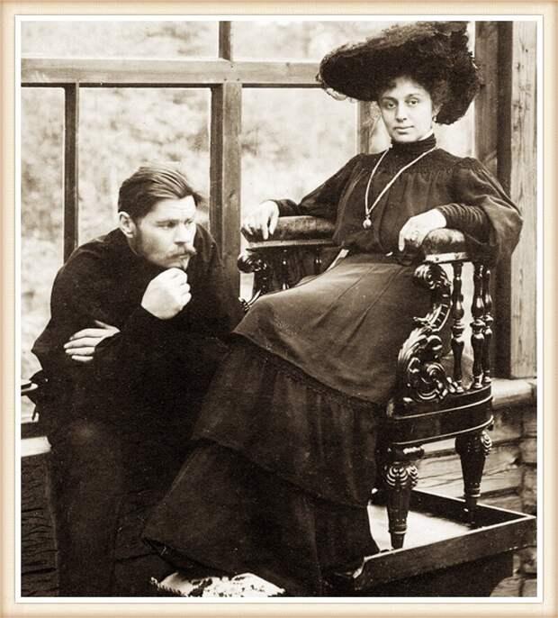 М. Горький и М. Андреева