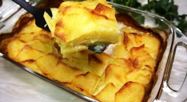 Ресторанная картошечка: рецепт подсказал знакомый повар. Давно такой вкусной не ела