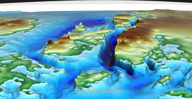 Ученые впервые представили миру подробную карту Антарктиды