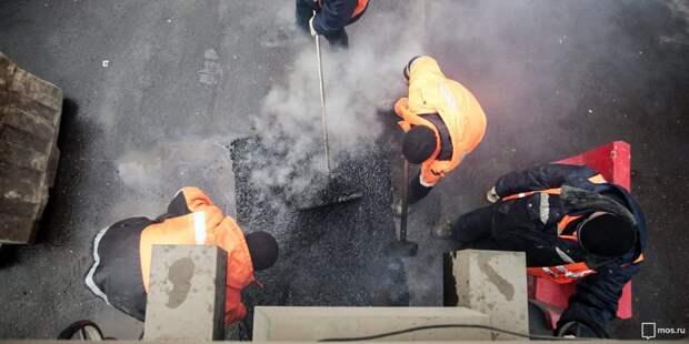На Нелидовской отремонтировали асфальтовое полотно