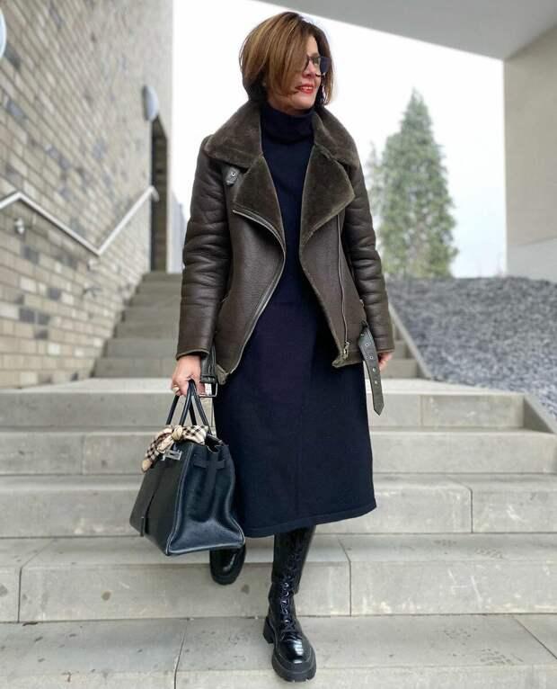 6 деловых образов c «изюминкой» для работающей женщины старше 50