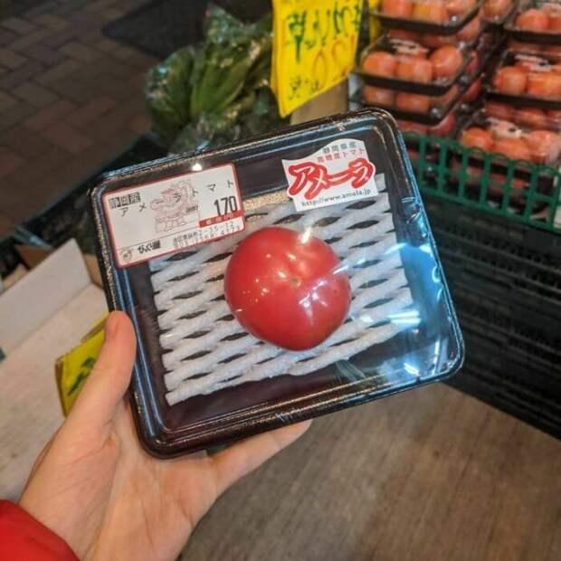 помидор в упаковке