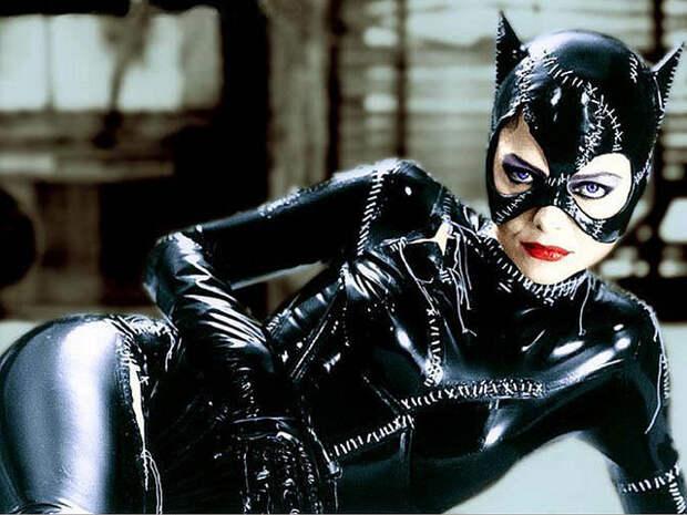 Женщины - кошки в кино.