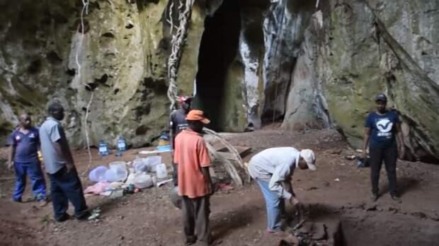 В Африке найдено древнейшее человеческое захоронение