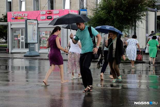 Синоптики предупредили о дожде и сильном ветре