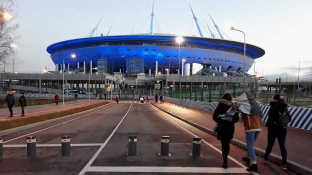 """Роспотребнадзор подтвердил готовность """"Газпром Арены"""" к Евро-2020"""
