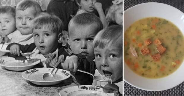 Топ- 5 блюд, которые дети любили в советских детских садах)