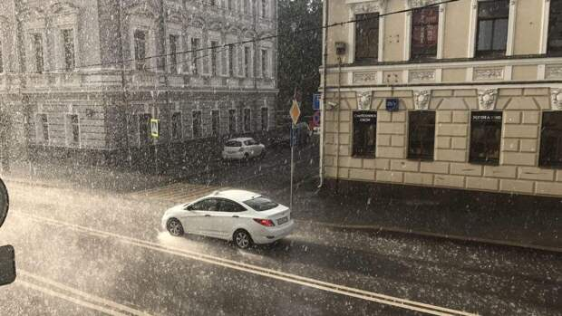 Интенсивный ливень прогнозируется в Москве 23 апреля