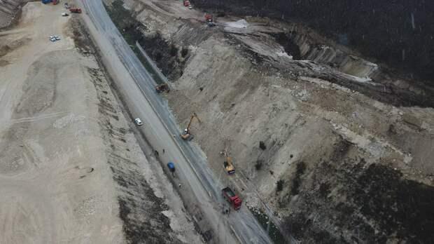 Движение по седьмому этапу трассы «Таврида» восстановят в полдень