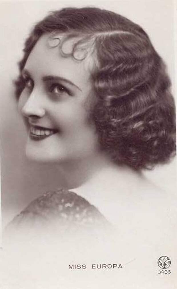 Мисс Россия 1933, Мисс Европа Татьяна Маслова. фото