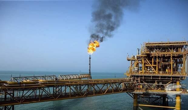 14 фаза иранского газового месторождения Южный Парс заработает кконцу лета 2021
