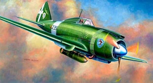 Итальянский самолет
