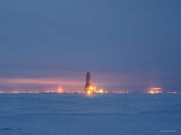 «Газпром» вобороне: усторонников сжижения газа Ямала все больше сторонников